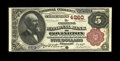 National Bank Notes:Kentucky, Covington, KY - $5 1882 Brown Back Fr. 471 The Citizens NB Ch. #4260. An attractive $5 Brown Back which is, by a very c...