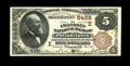National Bank Notes:Pennsylvania, Philadelphia, PA - $5 1882 Brown Back Fr. 477 The Franklin NB Ch. #(E)5459. Second Charters only from this short-lived ...