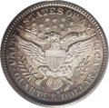 Barber Quarters: , 1896-O 25C MS64 PCGS. Ex: Friend Collection. A sharp, even strikeprevails on this New Orleans issue. Even the upper right ...