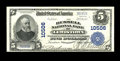 National Bank Notes:Pennsylvania, Lewistown, PA - $5 1902 Plain Back Fr. 605 The Russell NB Ch. #10506. A very attractive example from this private name ...
