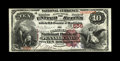 National Bank Notes:Pennsylvania, Philadelphia, PA - $10 1882 Brown Back Fr. 480 The Commercial NB of Pennsylvania Ch. # 556. We are sorely tempted to awa...