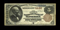 National Bank Notes:Pennsylvania, Sewickley, PA - $5 1882 Brown Back Fr. 471 The First NB Ch. # 4462.Once again, this serial number 1 Brown Back is the s...