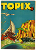 "Golden Age (1938-1955):Religious, Topix V6#5 Davis Crippen (""D"" Copy) pedigree (Catechetical Guild,1948) Condition: VF. The story ""The Monk and the Friendly ..."