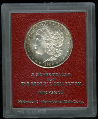 1900-S $1 Morgan Dollar MS65 Paramount International (MS64). Ex: Redfield. Highly lustrous with an above-average strike...