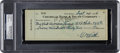 Baseball Collectibles:Others, 1936 Babe Ruth Signed Check for World Series Tickets (YankeeStadium).. ...