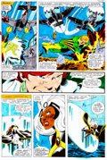 Original Comic Art:Miscellaneous, X-Men #123 Page 23 Hand-Painted Color Guide (Marvel,1979)....