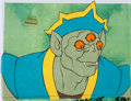 Animation Art:Production Cel, He-Man and the Masters of the Universe Angast Production CelSetup and Drawing (Filmation, 1984).... (Total: 5 Items)