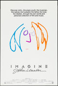 "Movie Posters:Rock and Roll, Imagine: John Lennon (Warner Brothers, 1988). One Sheet (27"" X 41"")Orange Hair Style. Rock and Roll.. ..."