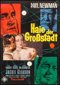 "Movie Posters:Drama, The Hustler (20th Century Fox, 1961). German A1 (23.5"" X 33.25""). Drama.. ..."