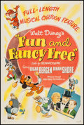 """Movie Posters:Animation, Fun and Fancy Free (RKO, 1947). One Sheet (27.25"""" X 41""""). Animation.. ..."""