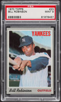 Baseball Cards:Singles (1970-Now), 1970 Topps Bill Robinson #23 PSA Mint 9....