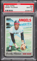 Baseball Cards:Singles (1970-Now), 1970 Topps Sandy Alomar #29 PSA Gem Mint 10 - Pop Two....