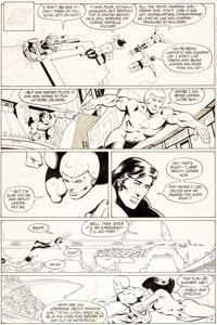 Keith Giffen and Larry Mahlstedt Legion of Super-Heroes V2#298 Page 12 Original Art (DC, 1983)