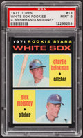Baseball Cards:Singles (1970-Now), 1971 Topps White Sox Rookies #13 PSA Mint 9....