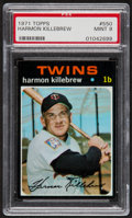 Baseball Cards:Singles (1970-Now), 1971 Topps Harmon Killebrew #550 PSA Mint 9....