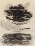 Fine Art - Work on Paper:Watercolor, Adja Yunkers (American, 1900-1983). Spanish Landscape, 1957.Ink on paper. 12 x 9-1/2 inches (30.5 x 24.1 cm) (sight). S...