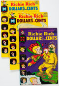 Silver Age (1956-1969):Humor, Richie Rich Dollars and Cents File Copies Box Lot (Harvey, 1963-82) Condition: Average NM-....