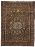 Rugs & Textiles:Carpets, An Indian Rug. Unknown maker, Agra, India. Circa 1900. Wool. Marks:none . 9 feet wide x 12 feet long. ...