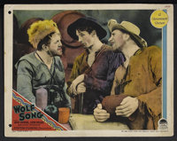"The Wolf Song (Paramount, 1929). Lobby Card (11"" X 14""). Western"