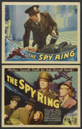 """Movie Posters:Crime, The Spy Ring (Universal, 1938). Title Lobby Card (11"""" X 14"""") andLobby Card. Crime. ... (Total: 2 Items)"""