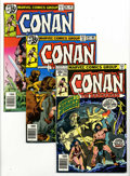 Bronze Age (1970-1979):Miscellaneous, Conan the Barbarian Group (Marvel, 1978-86) Condition: Average NM-.This group consists of 19 comics: #90, 94, 96, 98, 99, 1... (19Comic Books)