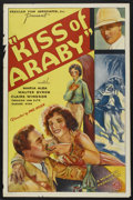 "Movie Posters:Adventure, Kiss of Araby (Monarch Film Corporation, 1933). One Sheet (27"" X41""). Adventure...."
