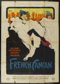 "Movie Posters:Musical, French Cancan (Gaumont, 1955). French Grande (45"" X 63"") Style B.Musical. ..."
