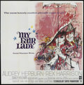 """Movie Posters:Musical, My Fair Lady (Warner Brothers, 1964). Six Sheet (81"""" X 81""""). Musical. ..."""