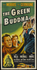 "Movie Posters:Crime, The Green Buddha (Republic, 1955). Three Sheet (41"" X 81""). Crime. ..."