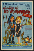 "Movie Posters:Animated, The Adventures of Mr. Wonderbird (Lippert, 1952). One Sheet (27"" X 41""). ..."