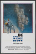 "Movie Posters:Adventure, The Right Stuff (Warner Brothers, 1983). One Sheet (27"" X 41""). Adventure. ..."