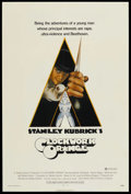 "Movie Posters:Science Fiction, A Clockwork Orange (Warner Brothers, 1971). One Sheet (27"" X40.75""). Science Fiction. ..."