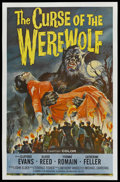 """Movie Posters:Horror, Curse of the Werewolf (Universal, 1961). One Sheet (26.75"""" X 41.5""""). Horror. ..."""