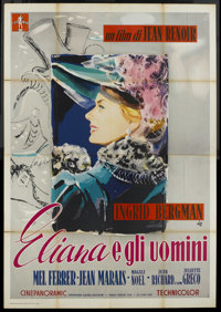 """Paris Does Strange Things (Warner Brothers, 1956). Italian 4 - Folio (55"""" X 78""""). Foreign"""