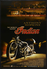 """The World's Fastest Indian (Magnolia Pictures, 2005). One Sheet (27"""" X 40"""") Style B SS. Adventure"""