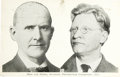 Political:Small Paper (1896-present), Debs & Seidel: A Rare Jugate Political Postcard for the 1912Socialist Presidential Ticket....