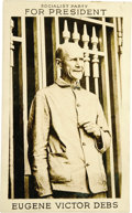 """Political:Small Paper (1896-present), Eugene V. Debs: The Classic """"Convict"""" Postcard from his Final (1920) Presidential Bid...."""