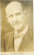 Political:Small Paper (1896-present), Eugene V. Debs: A Desirable Real Photo Postcard....