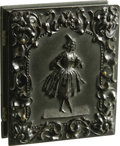 Photography:Ambrotypes, Pair of Ninth Plate Hard Images Depicting Couple (Krainik 382),...