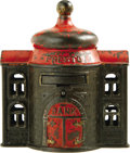 "Antiques:Toys, ""Presto"" Mechanical Bank..."
