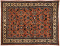 Rugs & Textiles:Carpets, A Persian Rug. Unknown maker, Sarouk, Iran. 20th century. Wool.Marks: none . 6 feet wide x 8.3 feet long. ...