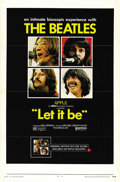"Movie Posters:Rock and Roll, Let It Be (United Artists, 1970). One Sheet (27"" X 41""). ..."