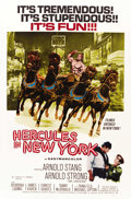 "Movie Posters:Action, Hercules in New York (RAF, 1970). One Sheet (27"" X 41""). ..."