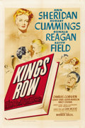 "Movie Posters:Drama, Kings Row (Warner Brothers, 1942). One Sheet (27"" X 41""). ..."