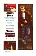 "Movie Posters:Drama, Rebel Without a Cause (Warner Brothers, 1955). One Sheet (27"" X41""). ..."