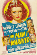 "Movie Posters:War, The Man I Married (20th Century Fox, 1940). One Sheet (27"" X 41"")...."