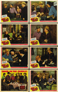"Movie Posters:Western, Back in the Saddle (Republic, 1941). Lobby Card Set of 8 (11"" X 14""). ..."