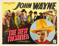 "Movie Posters:Western, The New Frontier (Republic, 1935). Title Lobby Card (11"" X 14""). ..."