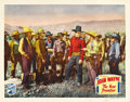 "Movie Posters:Western, The New Frontier (Republic, 1935). Lobby Cards (2) (11"" X 14""). ... (Total: 2 Items)"