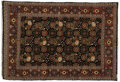 Rugs & Textiles:Carpets, An Indian Rug. Unknown maker, India. 20th century. Wool. Marks:none . 5.5 feet wide x 7.10 feet long. ...